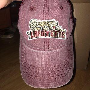 Lafayette College baseball hat